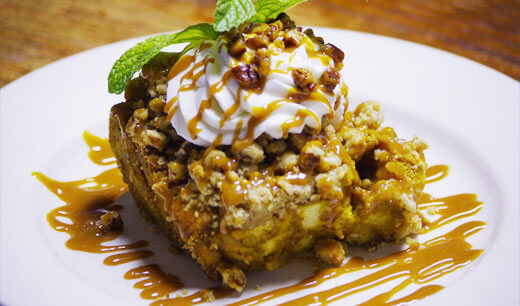 A Taste of Old Town: Bootleggers Pumpkin Bread Pudding Recipe