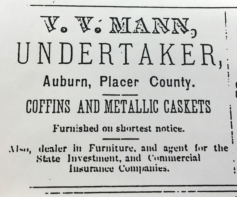 Undertaker Advertisement
